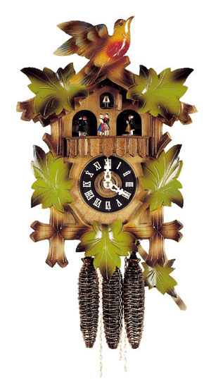 Musical multi color cuckoo clock - Colorful cuckoo clock ...